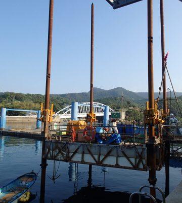 楠泊地区水産流通基盤整備工事(地質調査業務委託)
