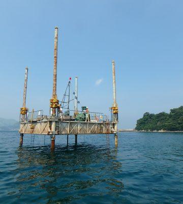 荒川漁港水産生産基盤整備工事(10工区)に伴うチェックボーリング業務