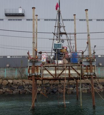 福山港箕島地区岸壁(-12m)土質調査