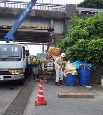 一般国道251号橋梁補修工事(地質調査業務委託)